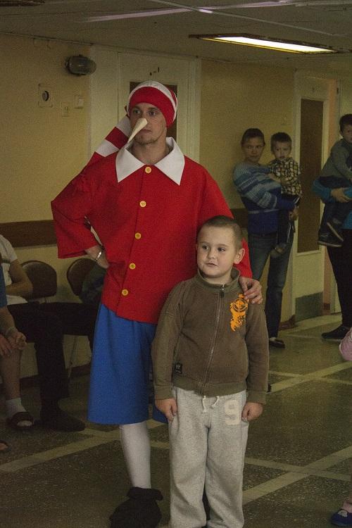 Детский праздник для пациентов обласной больницы Нижнего Новгорода