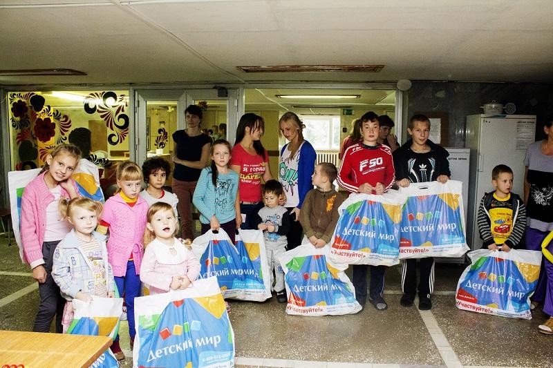 Детский праздник для пациентов областной больницы Нижнего Новгорода