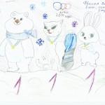 Сказочные герои олимпиады