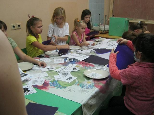 Мастер-класс для детской областной больницы