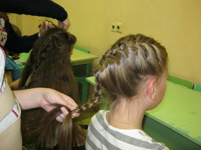 Мастер-класс по плетению французских косичек в Нижнем Новгороде