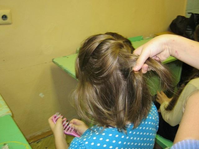 плетение косичек