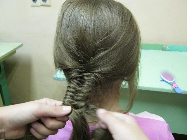 Шикарная причёска