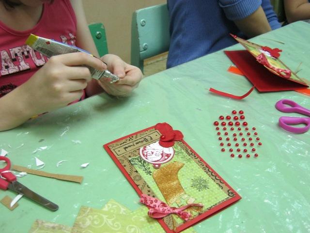 Мастер класс по изготовлению новогодних открыток