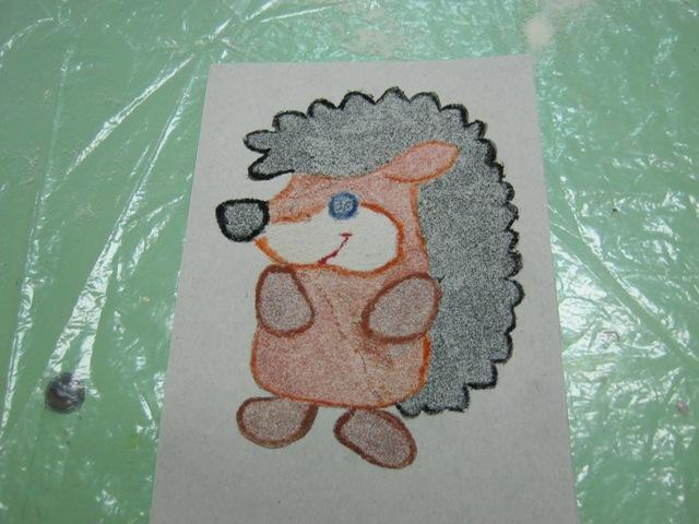 Благотворное виляние рисования манкой на ребёнка