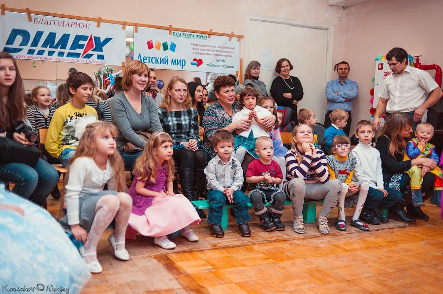 Новогодний праздник для детей с заболеваниями сердца в Тольятти