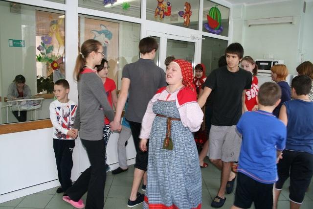 Детская радость - праздник масленица