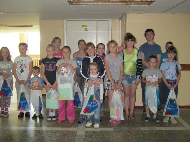 Подарки от детского мира для детей с больным сердцем